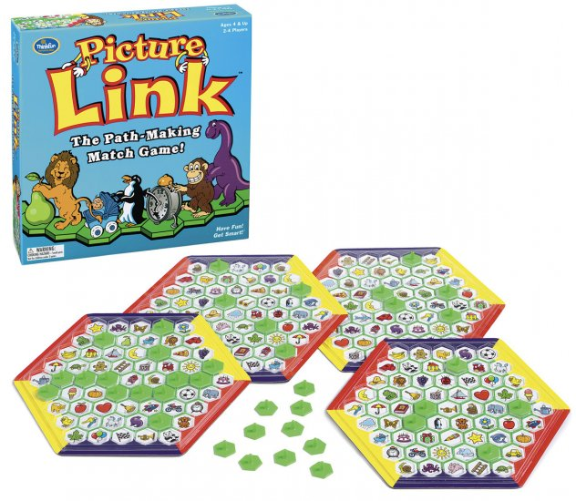Picture Link Game - Up to 4 Players - by Thinkfun  - Back in Stock