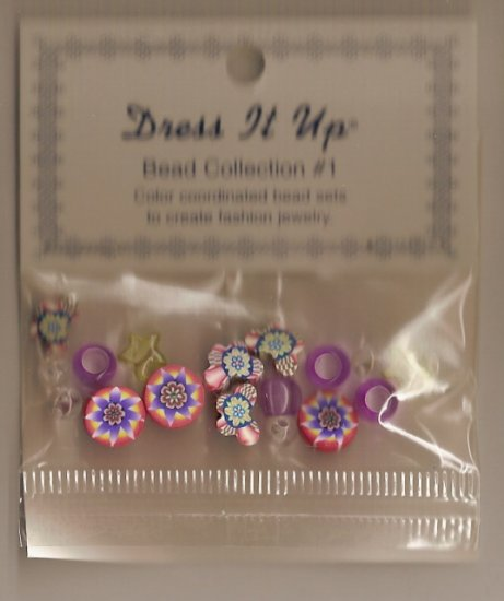 Dress It Up Bead Collection # 1 - FREE USA SHIPPING!