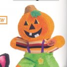Russ Berrie Halloween Softies Plush Bendies Pumpkin FREE USA SHIPPING!