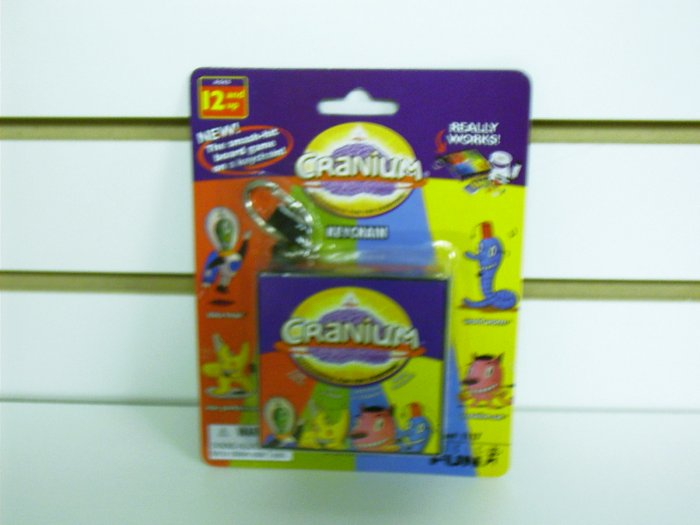 Classic Games Cranium Keychain by Basic Fun FREE USA SHIPPING!!