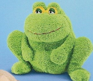 Russ Berrie Phluffles - Frog - FREE USA SHIPPING!