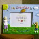 Russ Skribbles Photo Frame: My Grandpa is Greatest - FREE USA SHIPPING!