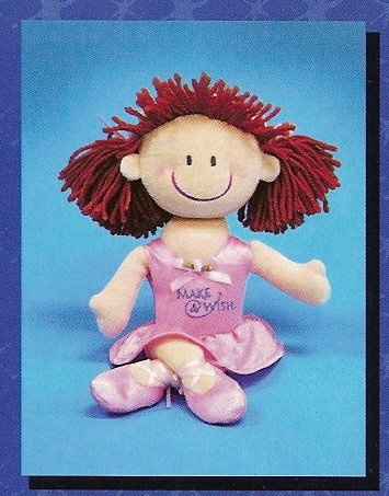 Russ Make A Wish Ballerina Velour Doll FREE USA SHIPPING!