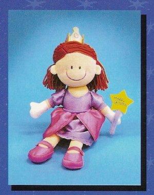Russ Make A Wish Princess Velour Doll - FREE USA SHIPPING!