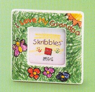 Mini Magnet Photo Frame I Love My Grandpa - FREE USA SHIPPING!