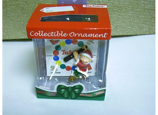 Twister Elf Collectible Christmas Ornament by Basic Fun  FREE USA SHIPPING!!