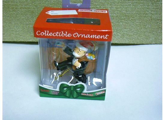 Monopoly Uncle Moneybags Collectible Christmas Ornament by Basic Fun  FREE USA SHIPPING!