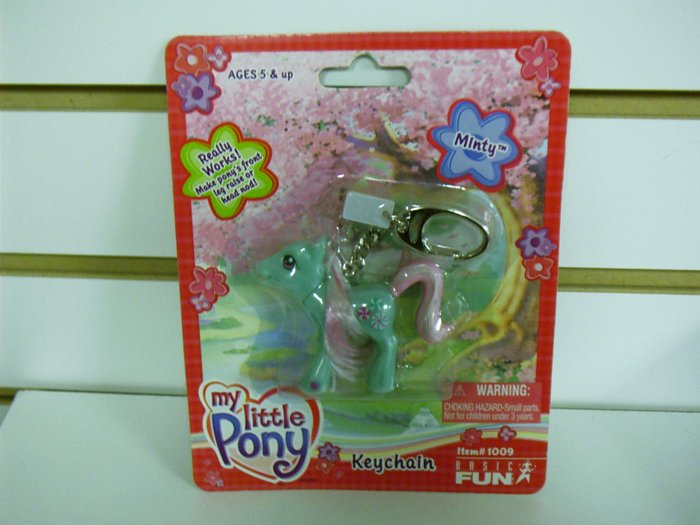 My Little Pony Minty Keychain by Basic Fun FREE USA SHIPPING!!