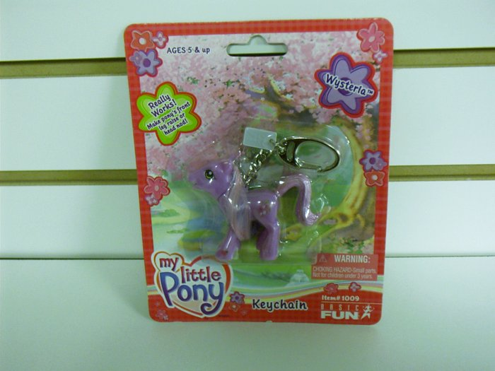 My Little Pony Wysteria Keychain by Basic Fun FREE USA SHIPPING!!