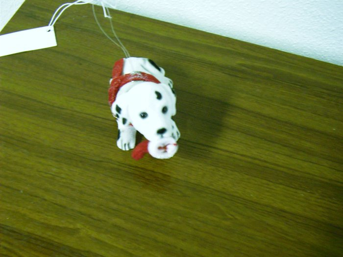 Russ Berrie Bobble Head Dog - Wags to Whiskers - Small Dalmatian FREE USA SHIPPING