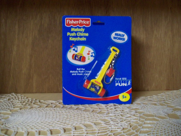 Fisher Price Melody Chime Keychain by Basic Fun FREE USA SHIPPING!!