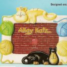 Russ Berrie Alley Katz Cat Photo Frame - FREE USA SHIPPING!