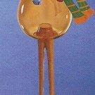 Russ Celebration of the Season Long Legged Glass Ornament Reindeer FREE USA SHIPPING