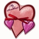 Valentine Heart Shaped Notepad - My Sweetheart - FREE USA SHIPPING