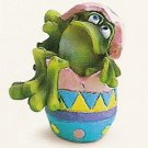 Russ Toadily Yours Easter Frog All Cracked Up 27612 FREE USA SHIPPING!