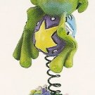 Russ Toadily Yours Easter Frog Spring Has Sprung 27612 FREE USA SHIPPING!