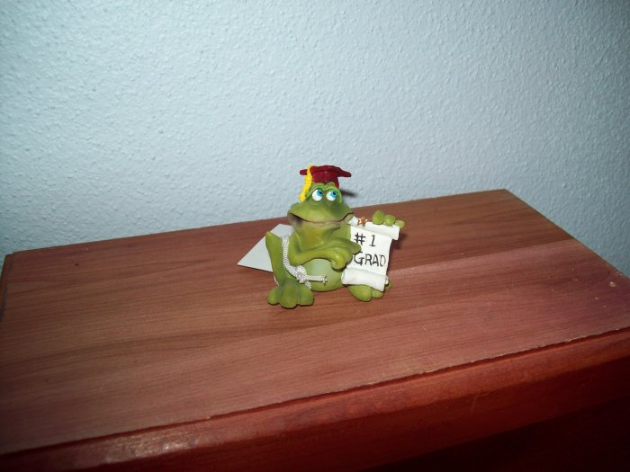 Russ Toadily Yours Graduation Frog #1 Grad 25169 FREE USA SHIPPING!