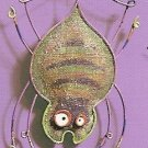 Russ Halloween Happy Hauntings Metal Mesh Ornament - Spider FREE USA SHIPPING!
