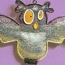 Russ Halloween Happy Hauntings Metal Mesh Ornament - Owl FREE USA SHIPPING!