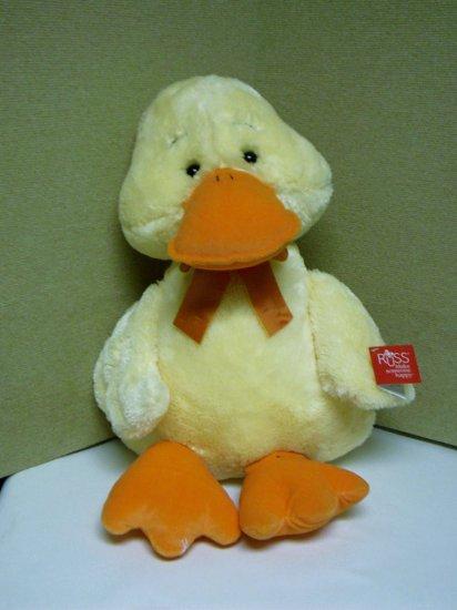 "Russ Berrie Medium Wade Plush Duck - 15"" - FREE USA SHIPPING!"