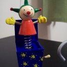 Russ Berrie Santa's Toyland Pull & Dangle Christmas Ornament - Jack in the Box