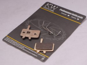 10 PAIRS NZKW SINTERED DISC PADS AVID BB7 J 3 5 7 ULTIMATE