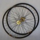 Mavic 319 Novatec HUB Disc wheelset WHEEL SET GOLD