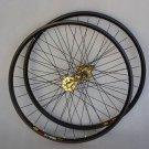 Mavic 319 Novatec HUB Disc wheelset WHEEL SET GOLD