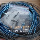 CNC Alloy Housing Cable KIT BLUE + 4 JAGWIRE WIRES COOL