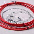 BICYCLE JAGWIRE HOUSING CABLE COMPLETE KIT RED SRAM AVID SHIMANO Campagnolo