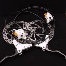 FUNN DROP IN Disc Brake SET 160MM WHITE  FRONT AND REAR