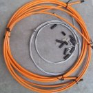 BICYCLE JAGWIRE HOUSING CABLE COMPLETE KIT  ORANGE SRAM AVID SHIMANO