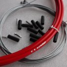BICYCLE JAGWIRE L3  HOUSING CABLE COMPLETE KIT RED SRAM AVID SHIMANO