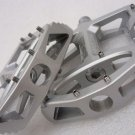 BICYCLE WELLGO MG1 MG-1 MAGNESIUM PEDALS PAIR SILVER 388g MTB BMX DH
