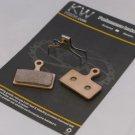 NZKW SINTERED DISC BRAKE PADS FITS SHIMANO 2011 XTR M985 M988 XT M785 SLX M666