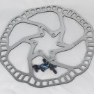 ONE PC BARADINE STAINLESS DISC BRAKE ROTOR SUIT AVID HAYES SHIMANO PROMAX 180MM 6 BOLT