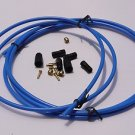 JAGWIRE HYDRAULIC DISC BRAKE HOSE DIY KIT FOR SHIMANO BLUE NEW IN PACK