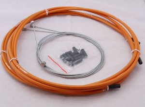 JAGWIRE HOUSING CABLE BRAKE SHIFTER COMPLETE KIT ORANGE SUIT AVID SHIMANO SRAM