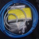JAGWIRE HOUSING CABLE BRAKE SHIFTER COMPLETE KIT BLUE