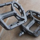 BICYCLE WELLGO MG1 MG-1 MAGNESIUM PEDALS PAIR  376g MTB BMX DH PLATFORM XTR GREY