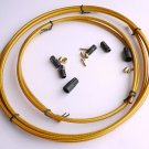 JAGWIRE HYDRAULIC DISC BRAKE BRAIDED HOSE DIY KIT FOR SHIMANO GOLD NEW IN PACK