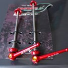 Titanium Quick Release Skewer SET TI AXLE 44g PAIR RED