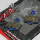 ORGANIC SEMI METAL DISC BRAKE PADS  FOR AVID ELIXIR SRAM XX XO Kevlar refinforce