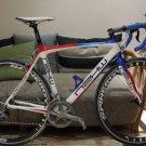 NZKW MONOCOQUE FULL CARBON FRAME SET ROAD RED BLUE WHITE ONDA FORK WITH HEADSET