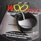 WOODMAN DEATH GRIP SL TI seatpost clamp Titanium bolt 34.9MM  BLACK 9.5g
