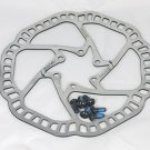 ONE PC STAINLESS DISC BRAKE ROTOR SUIT AVID HAYES SHIMANO PROMAX 160MM 6 BOLT