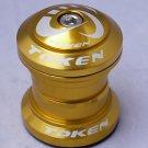 TOKEN Threadless Headset 28.6MM 1-1/8' GOLD