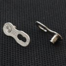 KMC 10 SPEED MISSING LINK CONNECTORS SUIT FOR SHIMANO SRAM SILVER COLOR