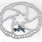 STAINLESS DISC BRAKE ROTOR SUIT AVID HAYES SHIMANO PROMAX 160MM 6 BOLT STYLE