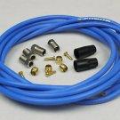 TEFLON KEVLAR HYDRAULIC DISC BRAKE HOSE KIT FOR SHIMANO XTR XT LX DEORE 3M BLUE